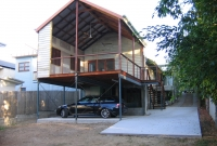 deck and carport combination New Farm, Brisbane