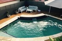 pool deck blackbutt