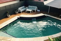 pool deck blackbutt