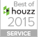 Best of Houzz 2015 - Customer Satisfaction