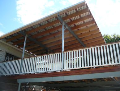 corrugated deck roof ideas