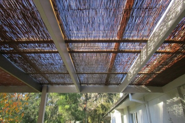 deck roofing ideas nature reed