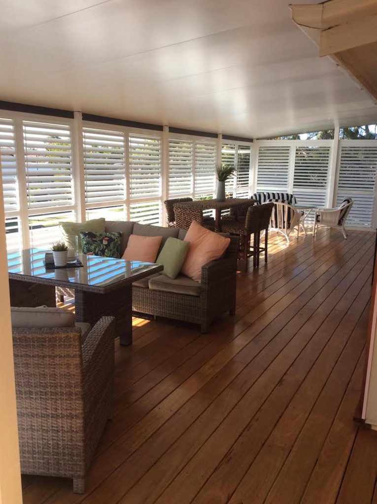 Before and After New Deck in Brighton, Brisbane